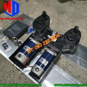 Bán mô tơ bạt Trung Quốc nhãn hiệu 888, công suất 450W, lắp cho xe ben