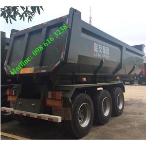 Bán mooc ben HUAYU - CIMC tải trọng 31 tấn , mooc ben 3 trục nhập khẩu Trung Quốc giá tốt và rẻ nhất