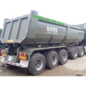 Bán mooc ben HUAYU - CIMC tải trọng cao nhất 31,25 tấn, có hệ thống tăng cường chống lật, chống bửa