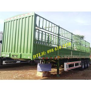 Bán mooc thùng 3 trục 5 khoang CIMC 12,4 m giá tốt nhất lốp 12.00R20 11.00R20 12R22.5