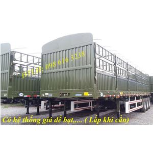 Bán mooc thùng khung mui CIMC 3 trục lốp 12.00R20 11.00R20 12R22.5 sơ mi rơ mooc tải CIMC Chính hãng
