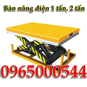 Bàn nâng điện 1 tấn - 1M, bàn nâng điện nhập khẩu Eoslift - Mỹ