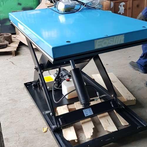 bàn nâng điện 1 tấn, giá bàn nâng điện, bàn nâng điện bằng thủy lực,