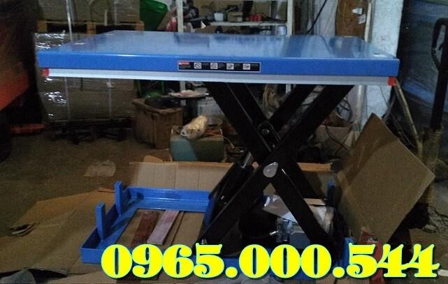 bàn nâng điện 1000 kg cố định
