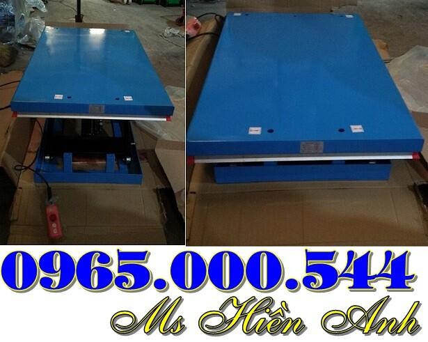 bàn nâng điện 1000 kg cố định giá rẻ