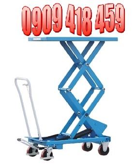 Bàn nâng điện thủy lực, bàn nâng hàng di chuyển