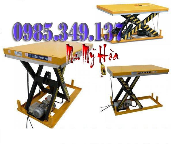 Bàn nâng điện 1000kg, HW1001 -Hàng chính hãng