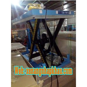 Bàn nâng điện 1 tấn HW1001