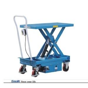 Bàn nâng điện thấp 300 kg, 500 kg nâng cao 1m giá tốt