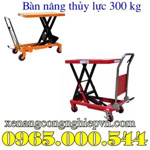 Bàn nâng thủy lực 300 kg chất lượng nhập khẩu giá tốt