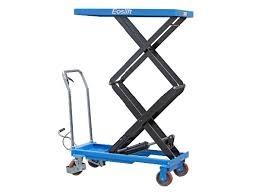 bàn nâng thủy lực 300kg , bàn nâng tay , xe nâng mặt bàn , xe nâng di chuyển chậu cảnh