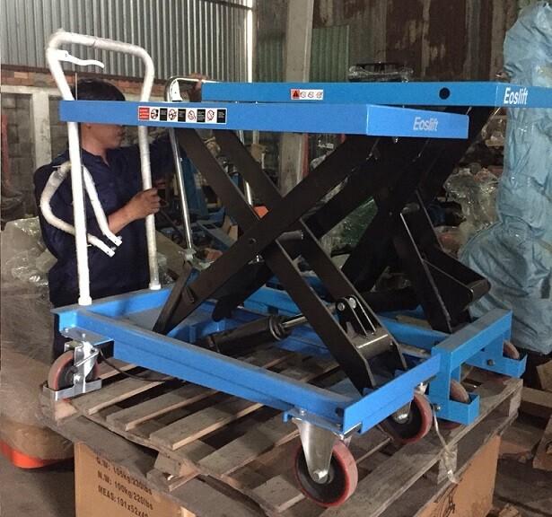 bàn nâng thủy lực 300kg , xe bàn nâng thủy lực , bàn nâng thủy lực 500kg , bàn nâng tay