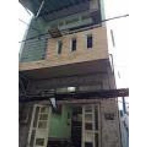 Bán nhà 1 trệt 3 lầu , 2 Mặt Tiền hẻm 4m , 254/46 Bến Vân Đồn , Quận 4
