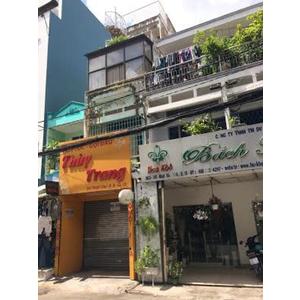 Bán nhà mặt tiền số 301 đường Nhật Tảo, quận 10