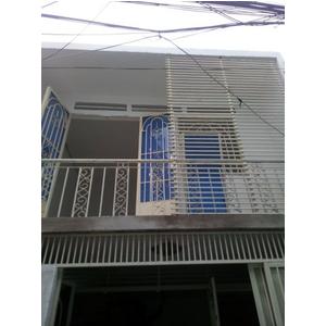 Bán nhà sổ hồng riêng phường Thới An, Quận 12 dt 4 x 7m nhà 1 lầu 2PN có ban công phơi đồ