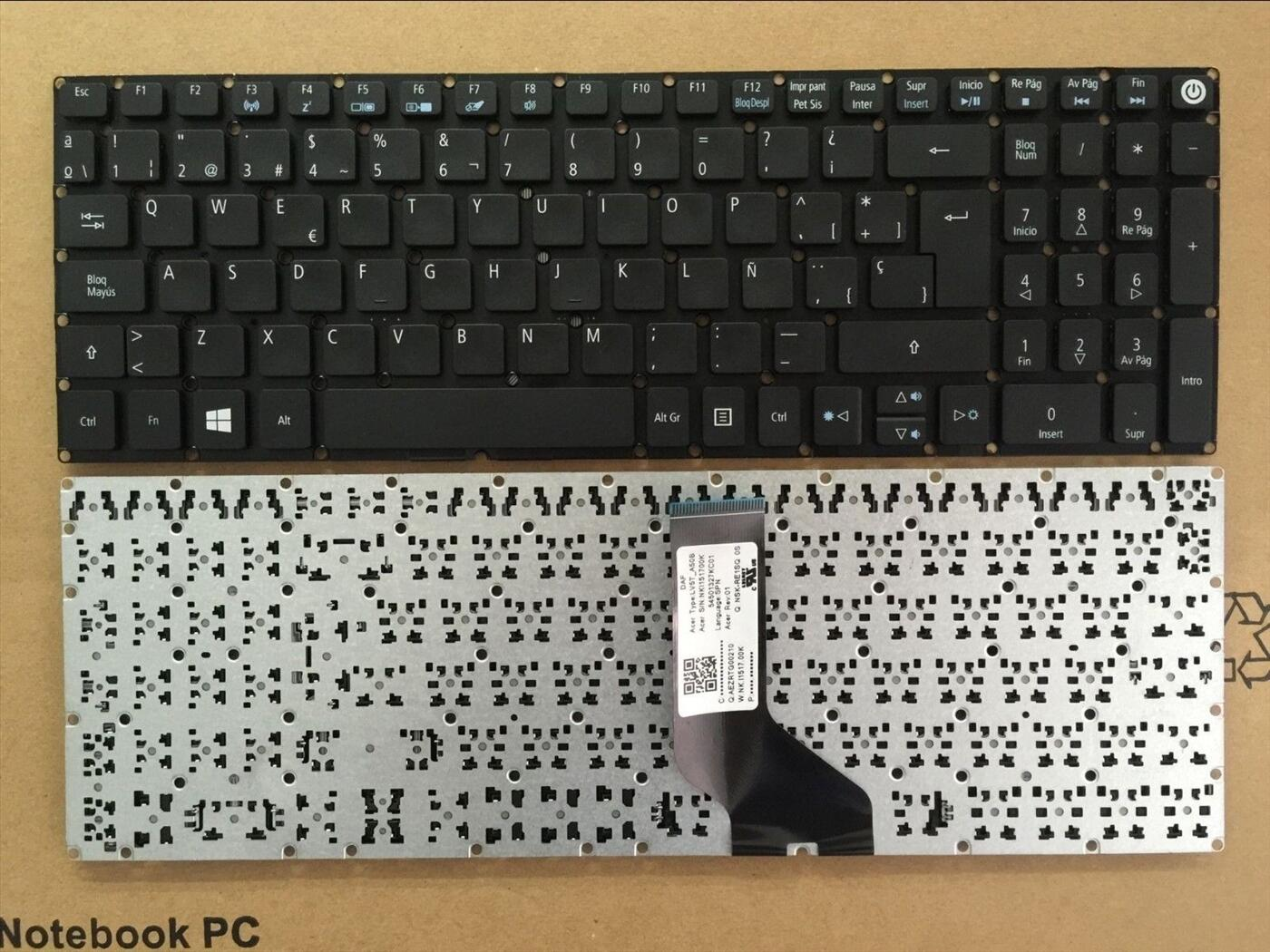 bàn phím laptop acer Aspire V 15, v15