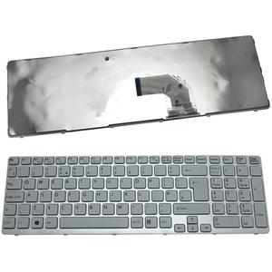 bàn phím laptop sony eh trắng(có bệ)