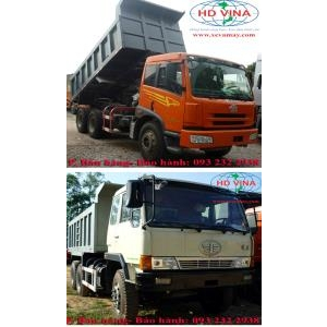 Bán phụ tùng xe ben 3 chân 13 tấn 15 tấn FAW Hoàng Trà CA3250 260 PS