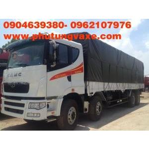 bán phụ tùng xe camc tải thùng 4 chân công xuất 375 ps