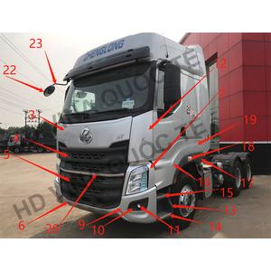 Bán phụ tùng xe đầu kéo Chenglong H7 giá tốt. Thân vỏ, gầm, cầu, động cơ...