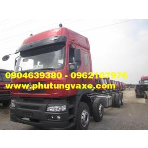 bán phụ tùng xe tải thùng 4 chân chenglong hải âu công xuất 340 ps ,