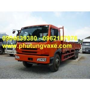 bán phụ tùng xe tải thùng faw công xuất 260 ps, model CA1258
