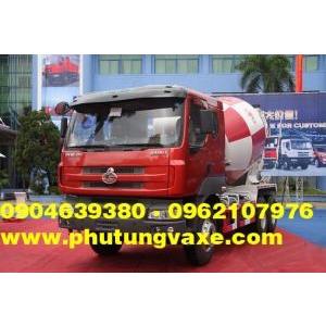 bán phụ tùng xe trộn bê tông cheng long hải âu công xuất 340 PS