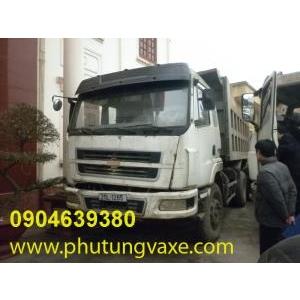 bán phụ tùng xe xe ben 3 chân Dongfeng hải âu 340 ps