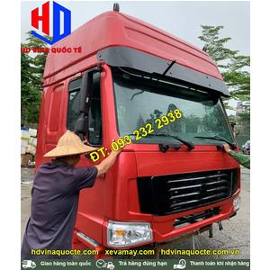 Bán thanh lý giảm giá cabin Howo HW79 nóc cao. Cabin xe bồn téc chở xi măng rời, cabin xe ben, xe thùng, đầu kéo Howo