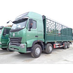 Bán thanh lý xe thùng 4 chân HOWO A7 8x4 371 Ps, cầu visai, SX 2014