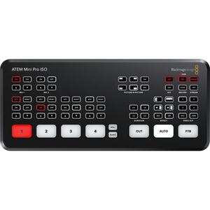 Bàn trộn hình ảnh và âm thanh Blackmagic Design ATEM Mini Pro ISO HDMI Live Stream Switcher