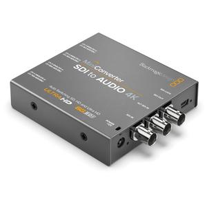 Bàn trộn hình ảnh và âm thanh Blackmagic Design Mini Converter SDI to Audio 4K