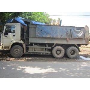 Bán xe ben 3 chân Howo thùng đúc 371 ps cũ 2007 đã qua sử dụng