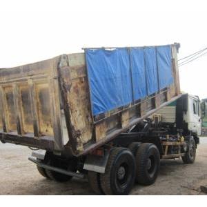 Bán xe ben 3 chân Trung Quốc cũ đã qua sử dụng giá rẻ