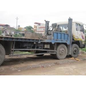 Bán xe nâng đầu chở máy công trình 4 chân Hyundai cũ đã qua sử dụng