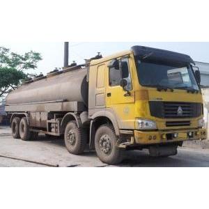 Bán xe téc chở xăng dầu 26 khối 26000 lít Howo nhập khẩu 2008 Trung Quốc cũ đã qua sử dụng