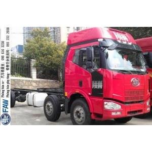 Bán xe thùng 2 dí 1 cầu 3 chân FAW J6 Truong cuu loại Cabin đời mới to cao 240 Ps