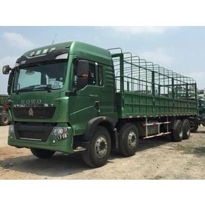 Bán xe thùng 4 chân Howo T5G 310 340 Ps tải trọng cao 17,9 tấn giá tốt nhất