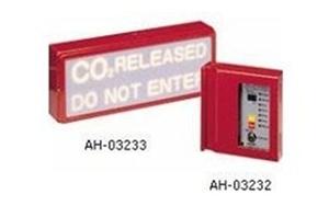 Bảng báo chuẩn bị xả khí HORING AH-03233