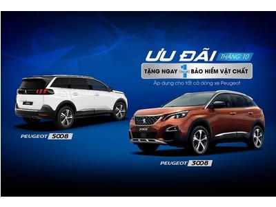 Báng giá bộ đôi sản phẩm Peugeot 3008 & 5008 mới 2020