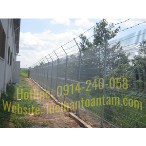 Bảng Giá Hàng Rào Lưới Thép - Giá Hàng Rào Lưới Thép Tại HCM