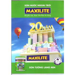 Bảng giá Sơn Maxilite mới nhất