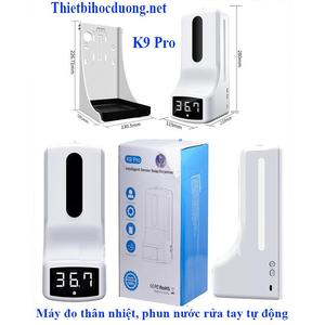 Bảng giá thiết bị đo thân nhiệt và xịt nước khử khuẩn tay k9 pro
