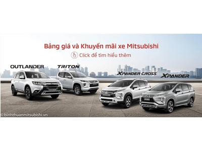 Bảng giá xe Mitsubishi Bình Thuận tháng 03/2021