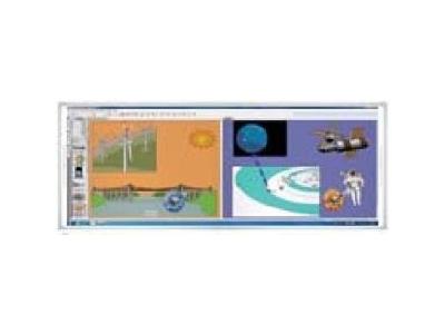 Bảng kép hai màn hình thông minh 77 JL-9000W (77)x2