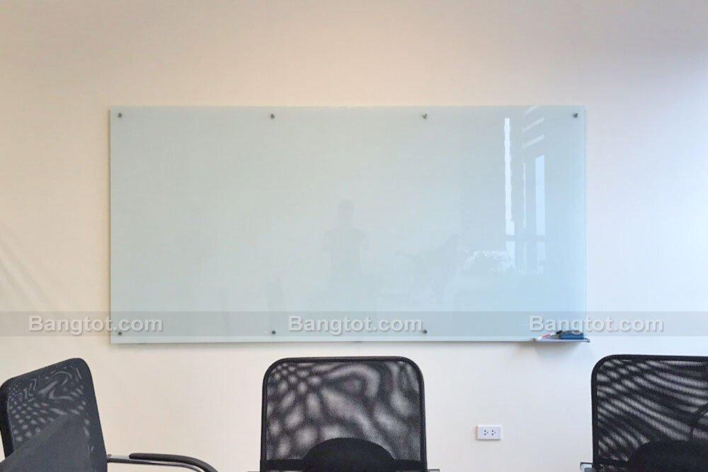 Bảng kính viết bút lông treo tường