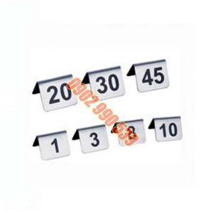 Bảng số để bàn