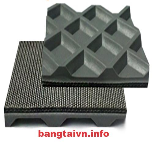 Băng tải chà nhám thùng dạng ô vuông (PVC)