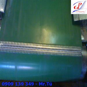 Băng tải PVC nối móc xương cá