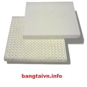 Băng tải PVC trắng trơn dày 2mm - 2 lớp bố